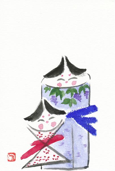 雛はがき作品4