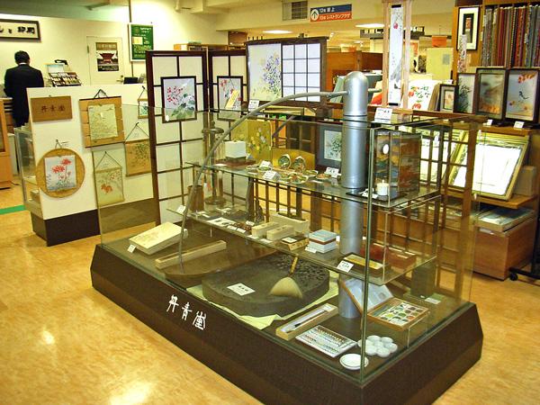 阪神店のステージ