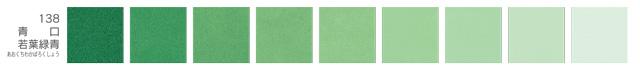 新岩絵具・青口若葉緑青