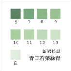青口若葉緑青(日本画用・新岩絵具)の色見本