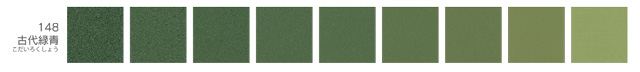 新岩絵具・古代緑青