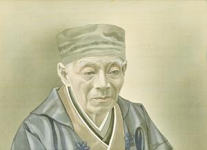 升屋仁兵衛の肖像画