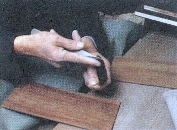 書道筆・日本画筆のこだわり(逆毛取り)