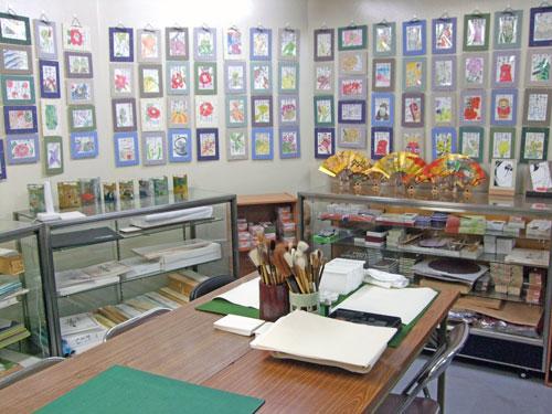 絵手紙道具・用品体験