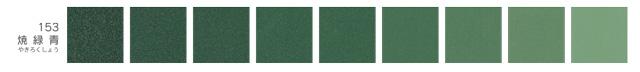 新岩絵具・焼緑青